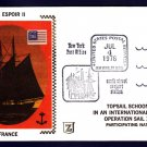 French Tall Ship BEL ESPOIR II Operation Sail 1976 Ship Cover