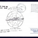 USNS SILAS BENT T-AGS-26 Naval Cover
