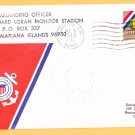 USCG LORAN Station Saipan Mariana Islands Coast Guard Cover