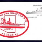 Battleship USS ARIZONA BB-39 Memorial Naval Cover