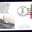 USS TUITUILA ARG-4 MHcachets Naval Cover ONLY 1 MADE
