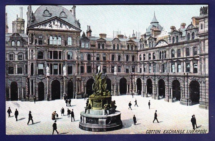 COTTON EXCHANGE LIVERPOOL United Kingdom Postcard
