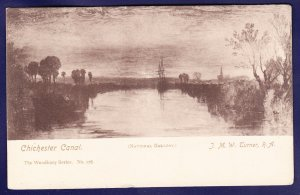 CHICESTER CANAL United Kingdom Postcard