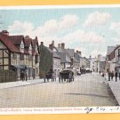 HENLEY STREET STARTFORD-ON-AVON SHAKESPEARE'S HOUSE United Kingdom Postcard