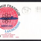Submarine USS BENJAMIN FRANKLIN SSBN-640 Launching BECK #B470 Cachet Naval Cover
