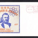Submarine USS ULYSSES S. GRANT SSBN-631 Commissioning BECK #B469 Cachet Naval Cover