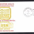 USS HOPPER DDG-70 FDPS Naval Cover