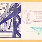 USS BRIDGE AF-1 Opening of Bay Bridge 1936 Naval Cover