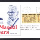 USS L. MENDEL RIVERS SSN-686 Launching Naval Submarine Cover