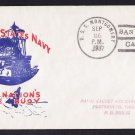 USS MONTGOMERY DM-17 San Diego CA 1937 Naval Cover