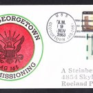 Research Ship USS GEORGETOWN AG-165 Commissioning BECK B#373 Naval Cover