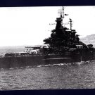 USS TENNESSEE BB-43 Battleship Navy Ship Postcard