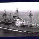 USS MONROVIA APA-31 Amphibious Attack Transport Navy Ship Postcard