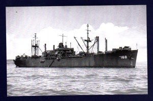 USS GAGE APA-168 Amphibious Attack Transport Ship Postcard