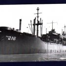 USS NESHOBA APA-216 Amphibious Assault Transport Ship Postcard