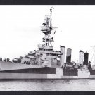USS RICHMOND CL-9 Cruiser Navy Ship Postcard