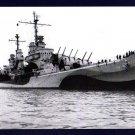 USS SAN JUAN CL-54 Cruiser Navy Ship Postcard