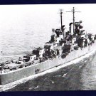 USS BIRMINGHAM CL-62 Cruiser Navy Ship Postcard