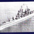 USS CANBERRA CA-70 Cruiser Navy Ship Postcard