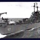 USS HUNTINGTON CL-107 Cruiser Navy Ship Postcard