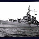 USS SPOKANE CL-120 Cruiser Navy Ship Postcard
