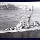 USS GALVESTON CLG-3 Guided Missile Cruiser Navy Ship Postcard