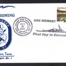 USS HOWARD DDG-83 Commissioning Naval Cover