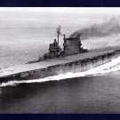 USS SARATOGA CV-3 Aircraft Carrier Navy Ship Postcard