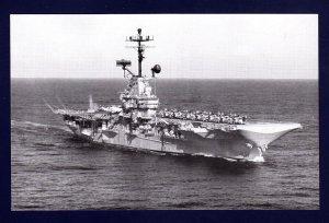 USS KEARSARGE CVS-33 Aircraft Carrier Navy Ship Postcard