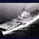 USS TARAWA CVA-40 Aircraft Carrier Navy Ship Postcard