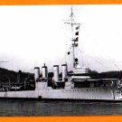 USS BUCHANAN DD-131 Destroyer Navy Ship Postcard