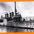 USS McFARLAND DD-237 Destroyer Navy Ship Postcard