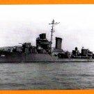 USS RALPH TALBOT DD-390 Destroyer Navy Ship Postcard
