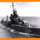 USS LAFFEY DD-459 Destroyer Navy Ship Postcard