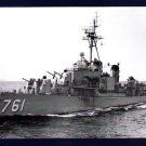 USS BUCK DD-761 Destroyer Navy Ship Postcard