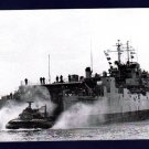 USS GUNSTON HALL LSD-5 Dock Landing Ship Navy Ship Postcard