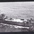 USS DUNN COUNTY LST-742 Tank Landing Ship Navy Ship Postcard