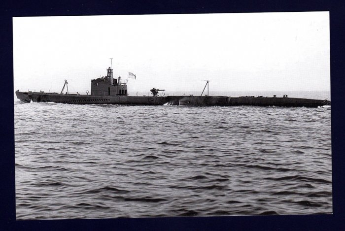 USS STINGRAY SS-186 Submarine Navy Ship Postcard