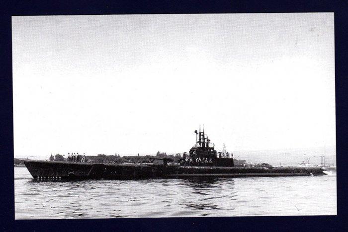 USS SCAMP S-277 Submarine Navy Ship Postcard