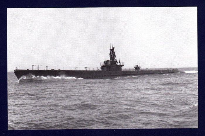 USS KETE SS-369 Submarine Navy Ship Postcard