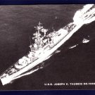 USS JOSEPH K. TAUSSIG DE-1030 Destroyer Escort Navy Ship Postcard