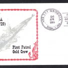 USS GEORGIA SSBN-729 First Patrol Naval Submarine Cover