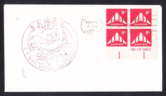 McMURDO STATION ANTARCTICA 1973 Operation Deep Freeze Polar Cover