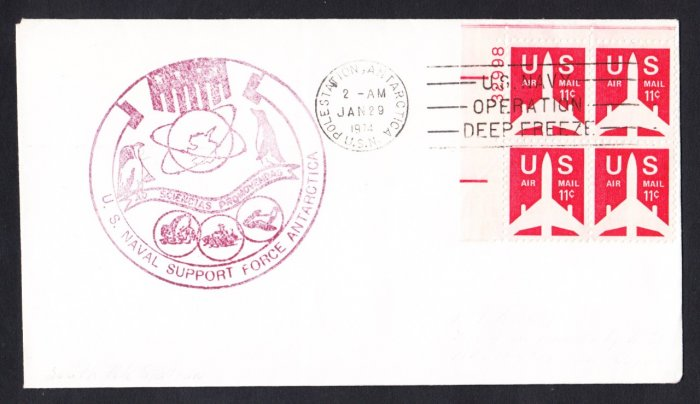 SOUTH POLE STATION ANTARCTICA 1974 Operation Deep Freeze Polar Cover