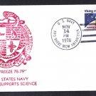 McMURDO STATION ANTARCTICA 1978-79 Operation Deep Freeze Polar Cover