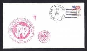 USS JOHN F. KENNEDY CV-67 International Naval Review Naval Cover