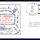 USS BOGGS DD-136 / AG-19 Anniversary 1937 Naval Cover