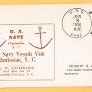 USS KANE DD-235 Charleston SC 1936 Naval Cover