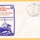 USS STRIBLING DD-867 Commissioning 1945 Naval Cover