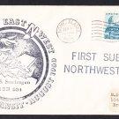 USS SEADRAGON SSN-584 1960 POLAR TRANSIT Naval Submarine Cover